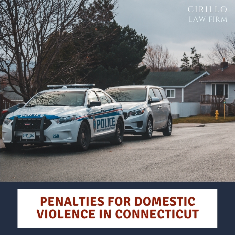 Penalties For Domestic Violence in Connecticut
