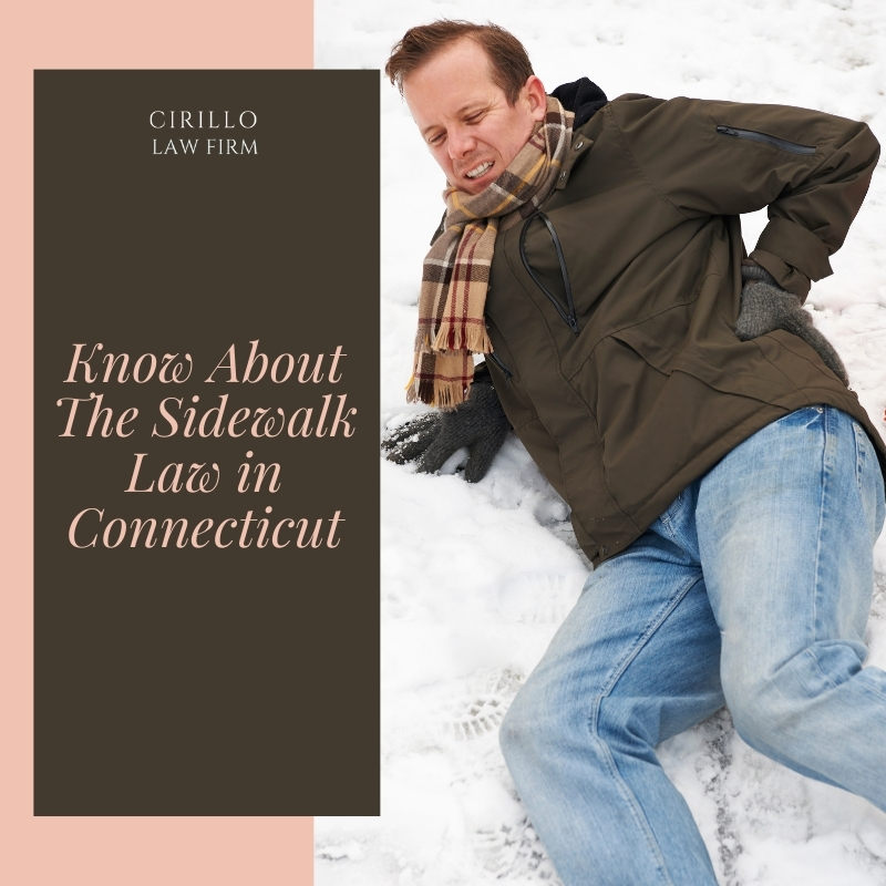 Know About The Sidewalk Law in Connecticut