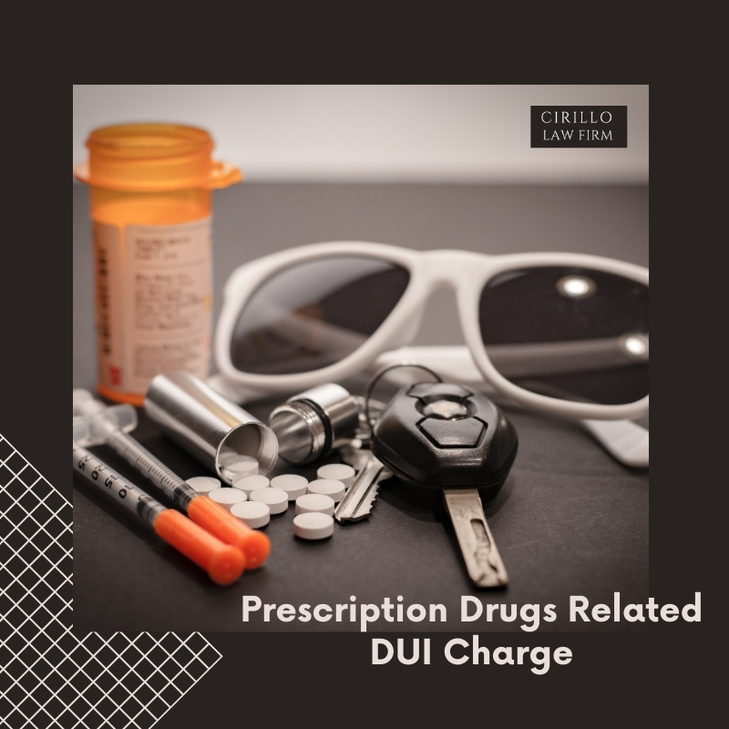 Prescription Drugs Related DUI Charge in Connecticut