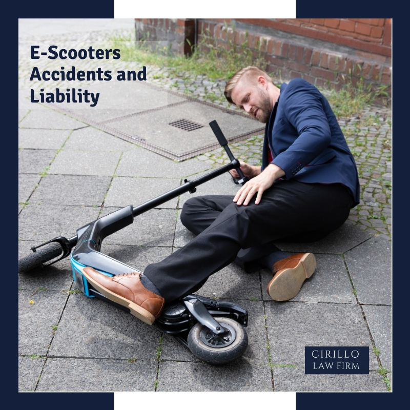 E-Scooters Accidents and Liability
