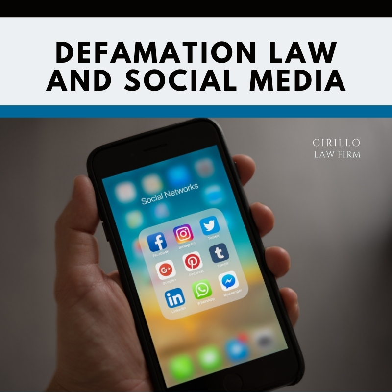 Defamation Law and Social Media
