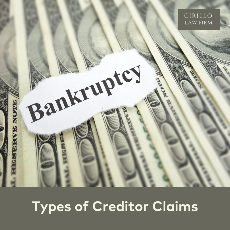 Types of Creditor Claims