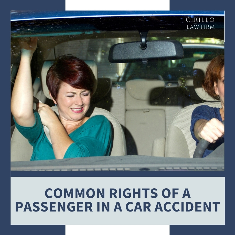 Common Rights Of A Passenger In A Car Accident