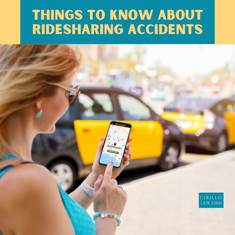 Things To Know About Ridesharing Accidents