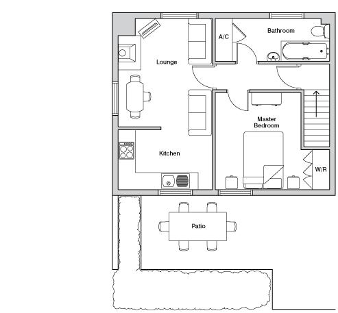 Upper mill floorplan