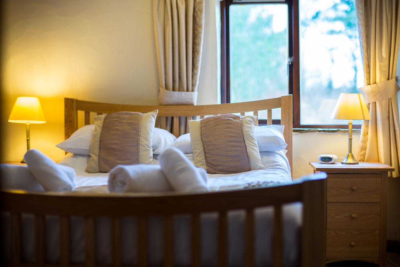 Upper mill bedroom pillows