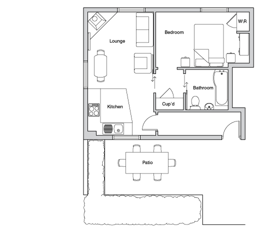 Lower mill floor plan
