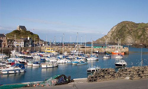 From Ilfracombe harbour