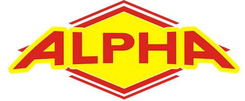 Alpha Air conditioning and heating logo with link to homepage