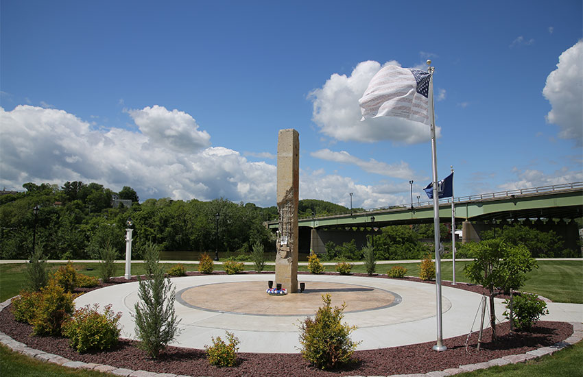 9-11 Memorial - Amstedam Riverlink Park, Amsterdam, NY