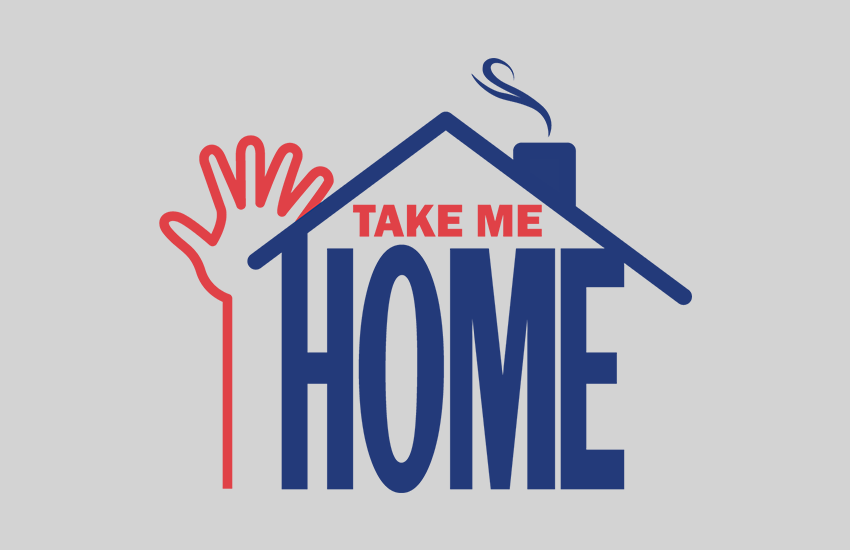 Autism Society Take Me Home Project Logo