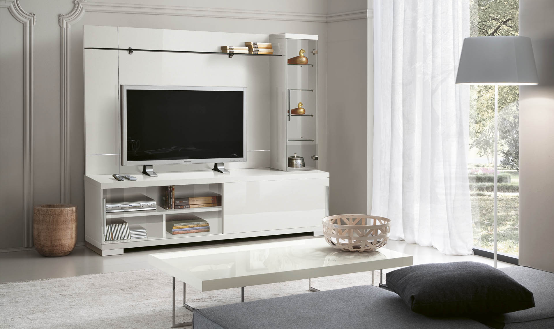 Asti Entertainment Center overview