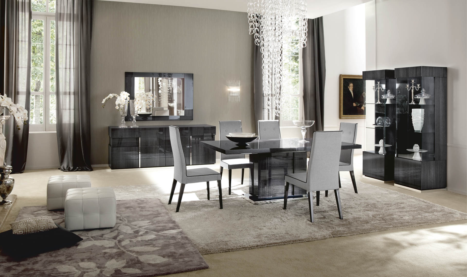 Montecarlo Dining Room Set 2 overview 2