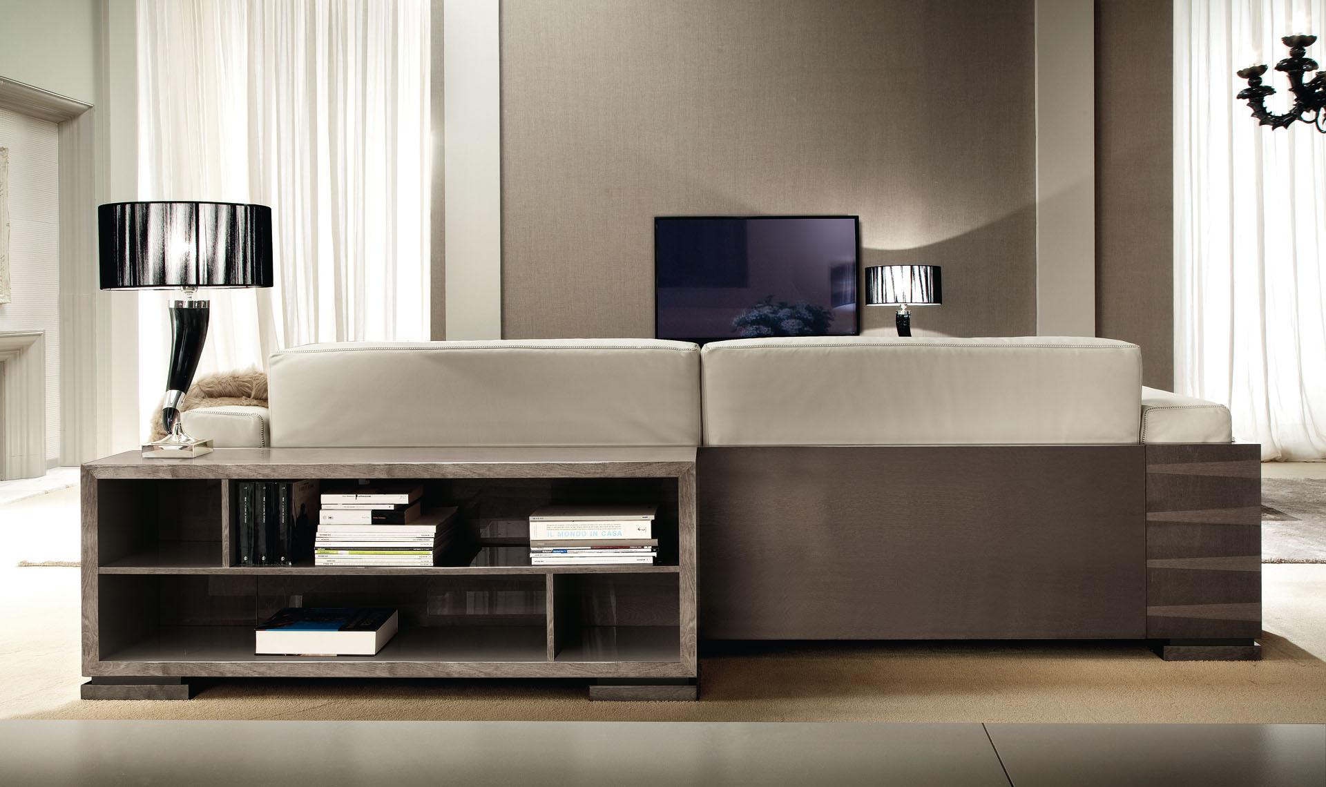Monaco Living Room Library Unit