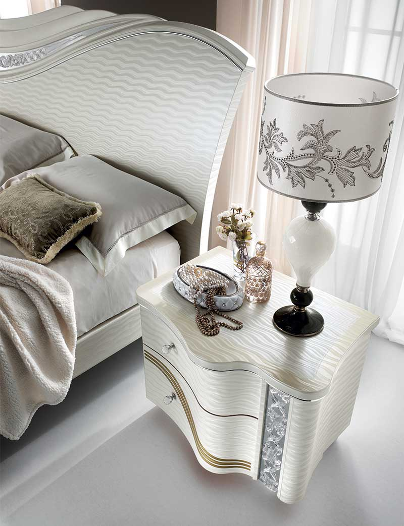 Mirò Bedroom bed night table