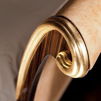 Rossini Bedroom bed detail headboard