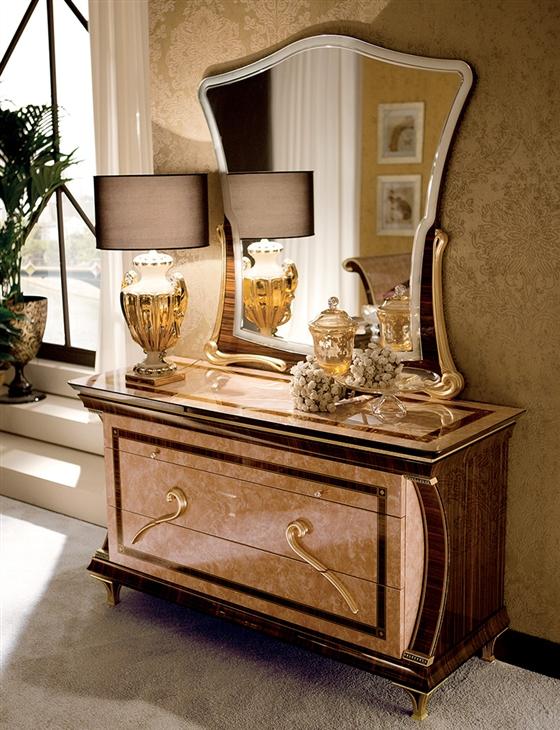 Rossini Bedroom three drawer dresser