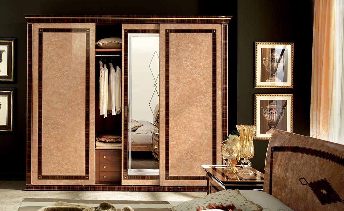 Rossini Bedroom three door sliding wardrobe