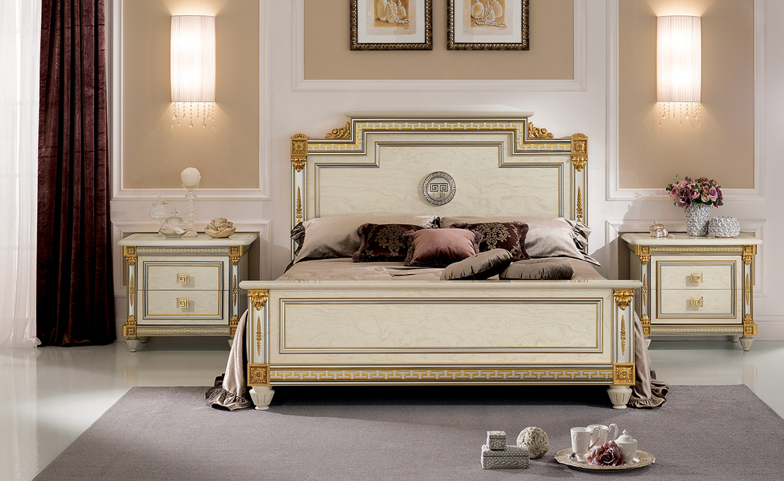 Liberty Bedroom Bed and night tables