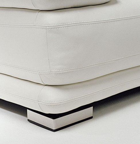 Atlantic leather sofas deluxe feet