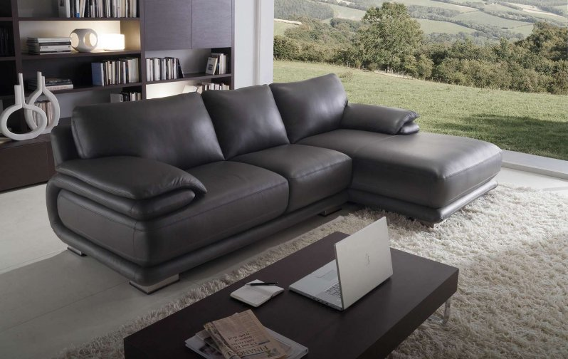 Atlantic leather sofas deluxe overview (dark brown sofa)