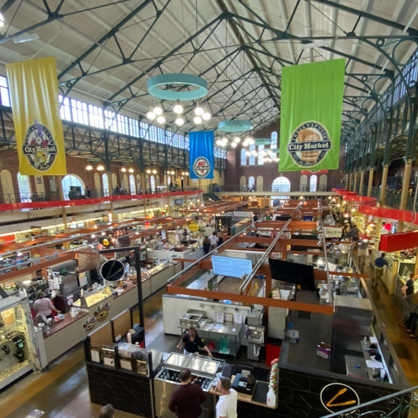 In-person attendees enjoyed a complementary lunch at City Market
