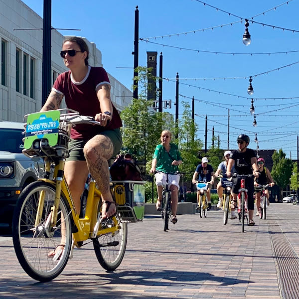 Pacers Bikeshare made getting around Indianapolis a breeze throughout the conference