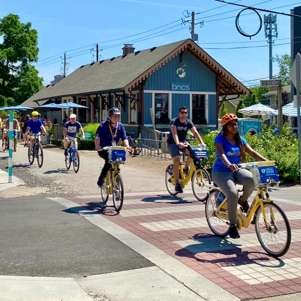 A trip along the Monon Trail traced Indianapolis's long history of cycling and pedestrian advocacy