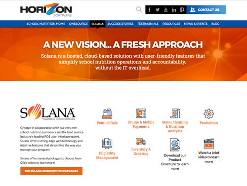 brand sample web page