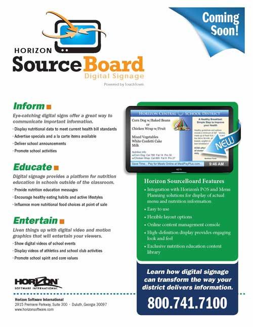 SourceBoard flyer