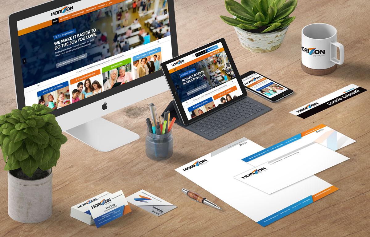 Horizon corporate branding samples