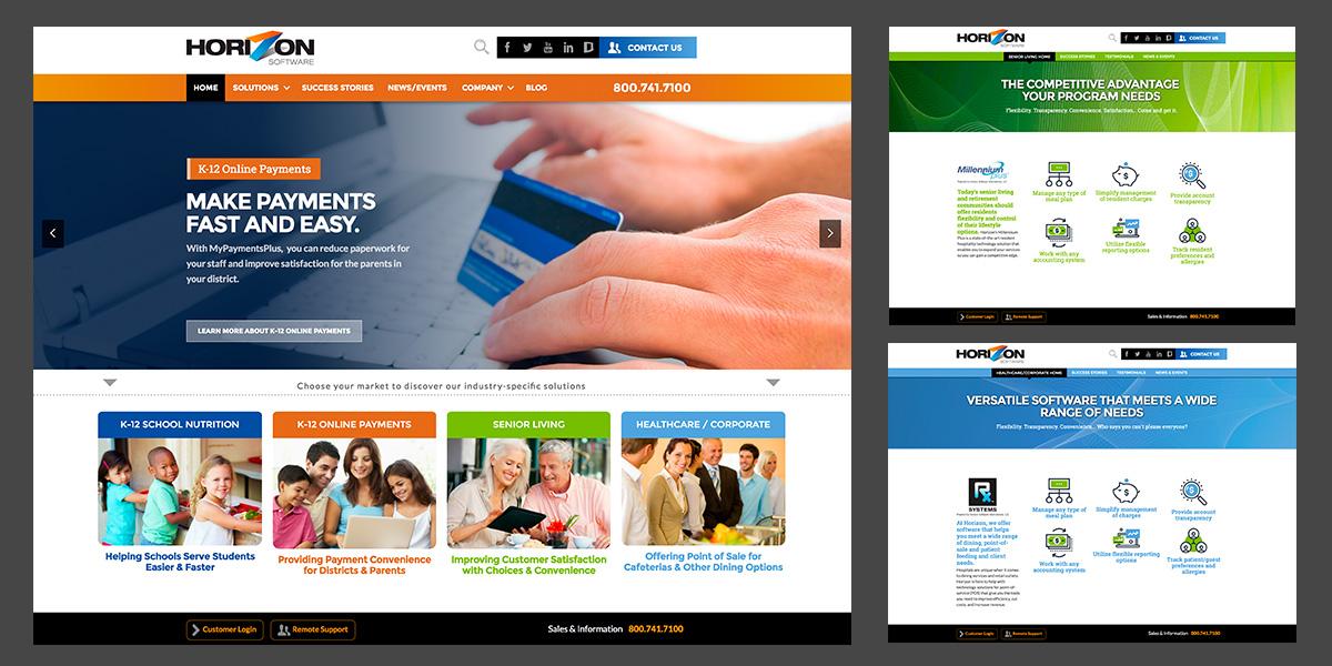 Horizon website sample