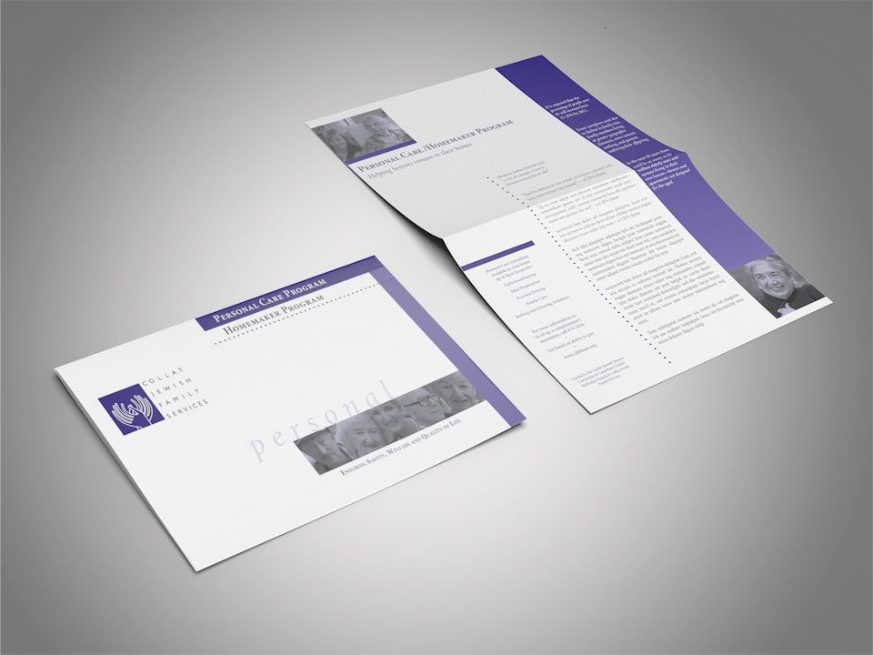 photo of CJF direct mail piece