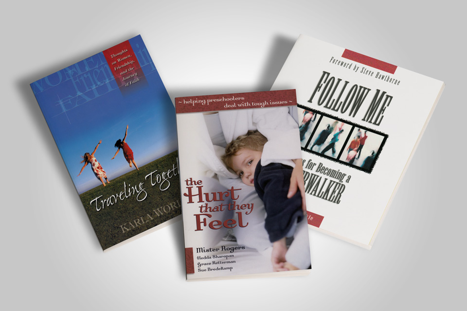 photo of book covers for New Hope Publishers