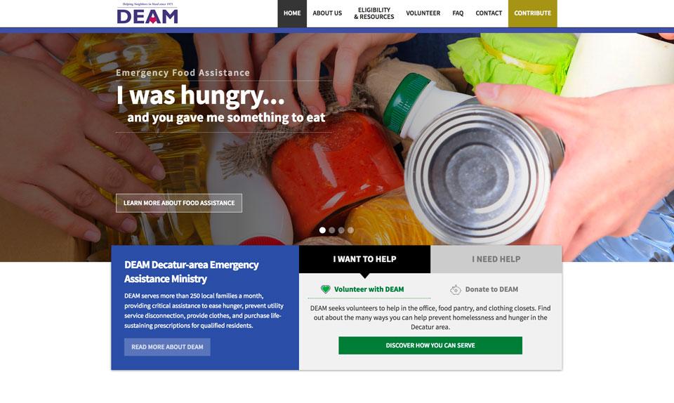 photo of website: DEAM detail