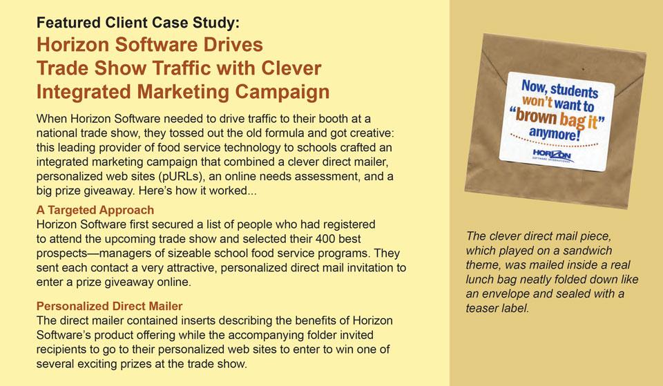 marketing case study detail