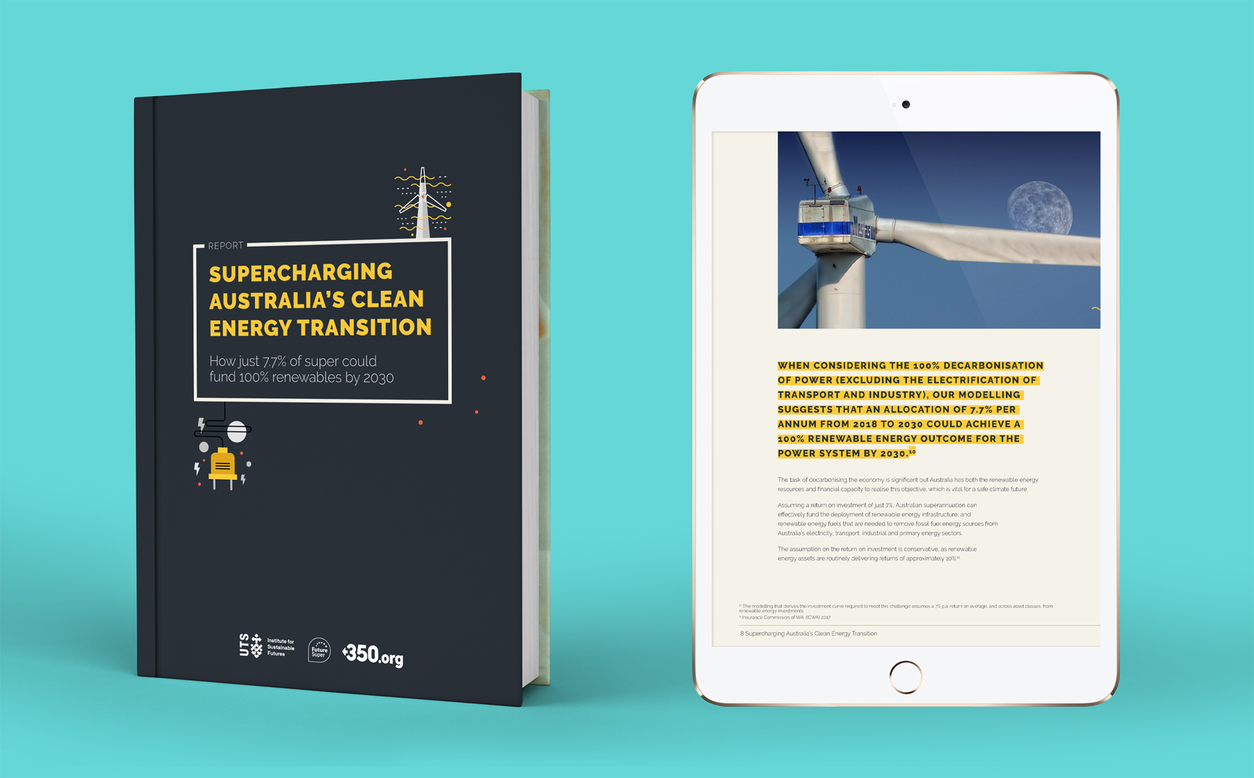 UTS Report: Supercharging Australia's clean energy transition