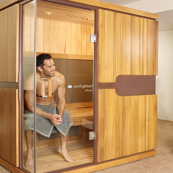 MAN IN MPULSE 2-PERSOONS SAUNA