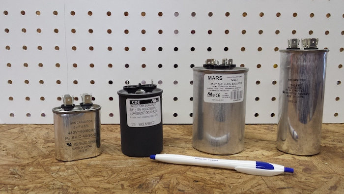 Run capacitors for air conditioner