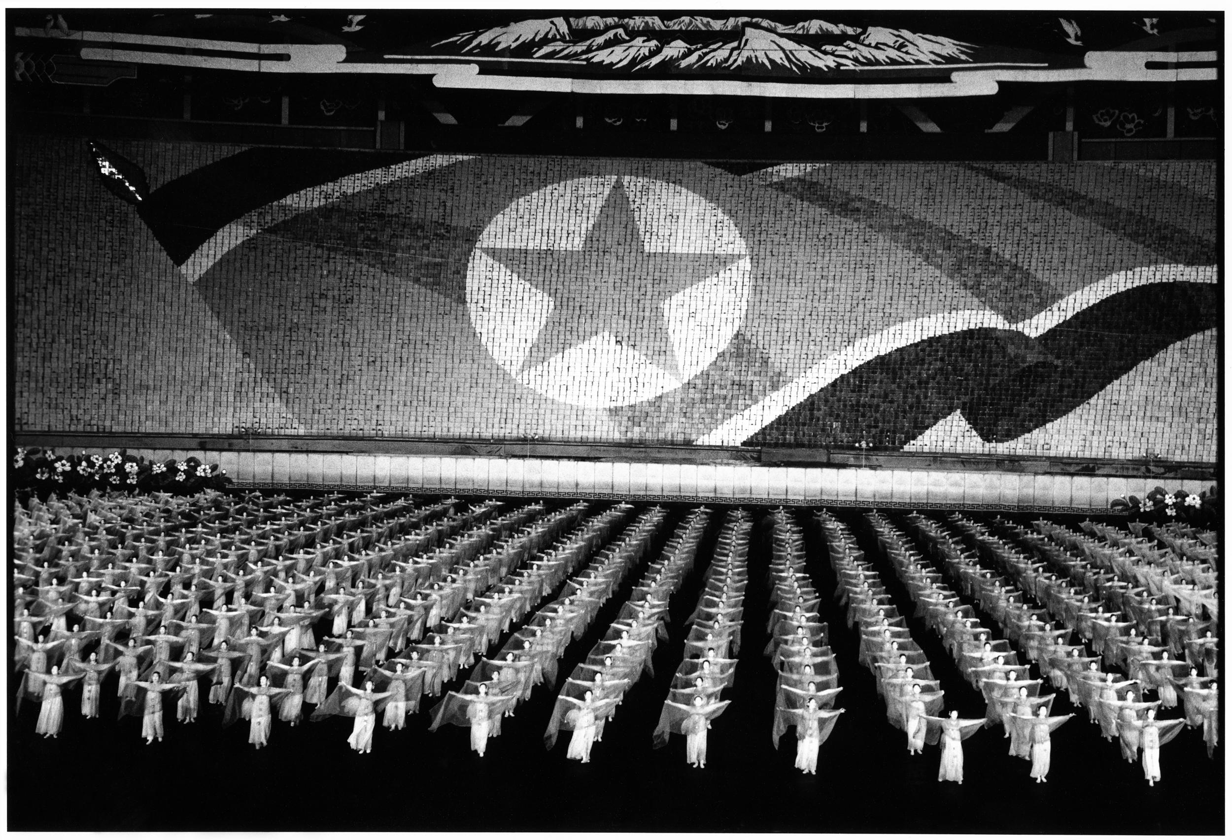 Arirang Mass Games (Pyongyang, North Korea).