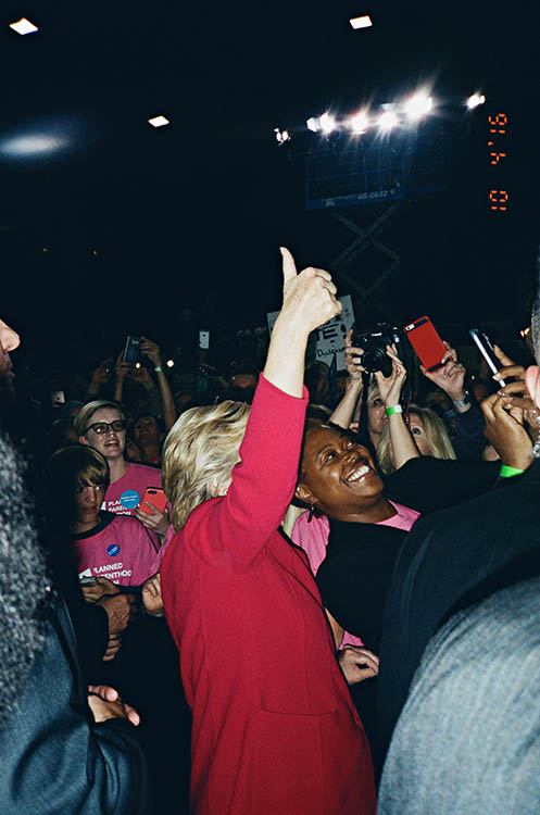 The Last Campaign: On tour with The Clintons (October, 2016).