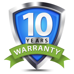 10 Year Warranty on our Heat Pumps