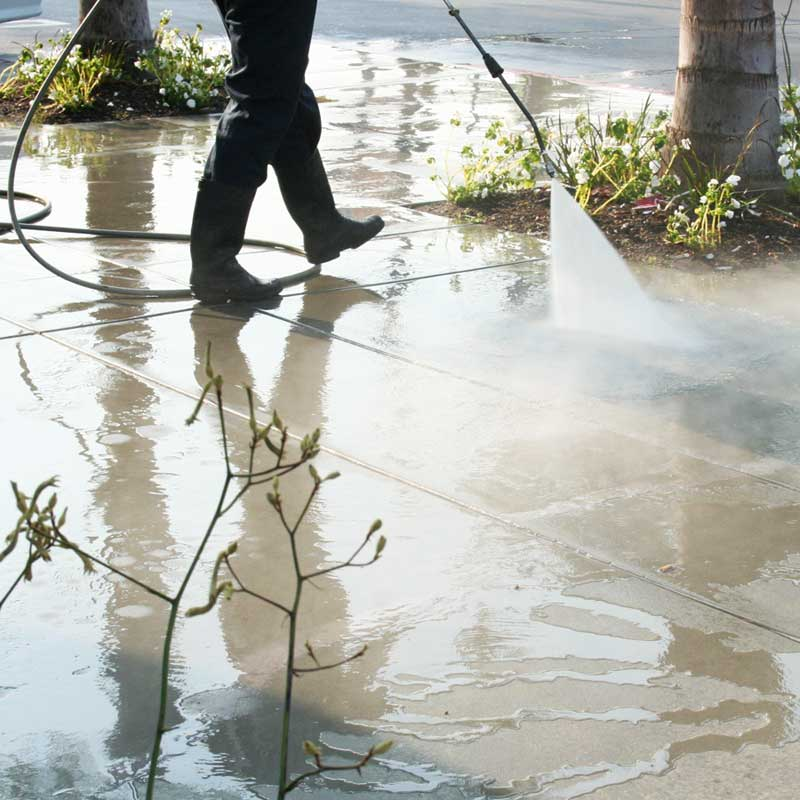 Pressure washing will make your home or office look brand new.