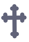 blue cross icon