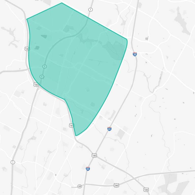 North Austin Map