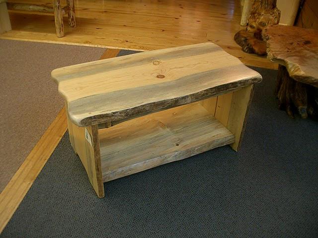 Fantastic Northwest Handmade Furniture Blue Pine Slab Style Benches Evergreenethics Interior Chair Design Evergreenethicsorg