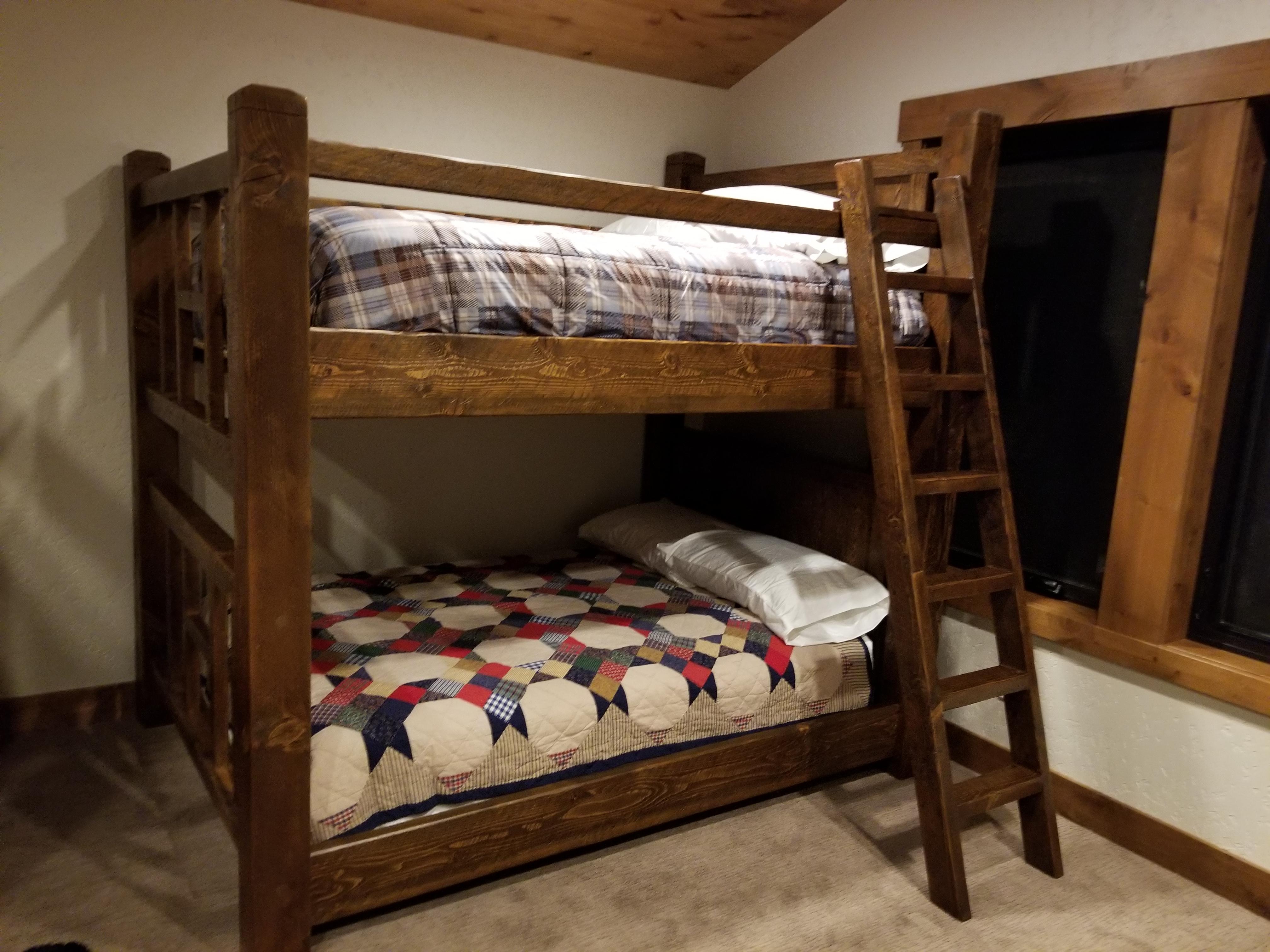Northwest Handmade Furniture Timber Bunk Beds