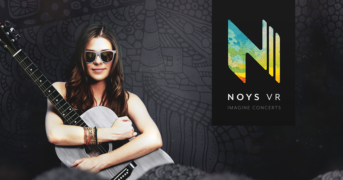 NOYS VR - Virtual Reality Live Music Concerts in Visionary Environments