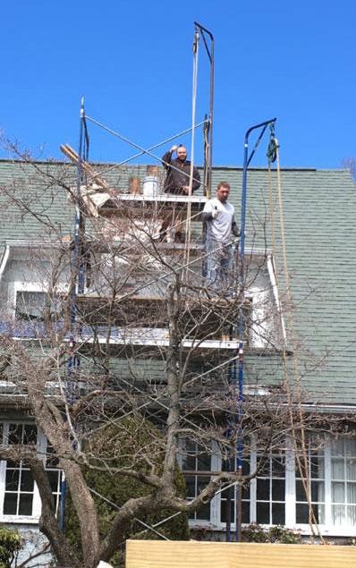 Western Mass Masons Work At Extraordinary Heights