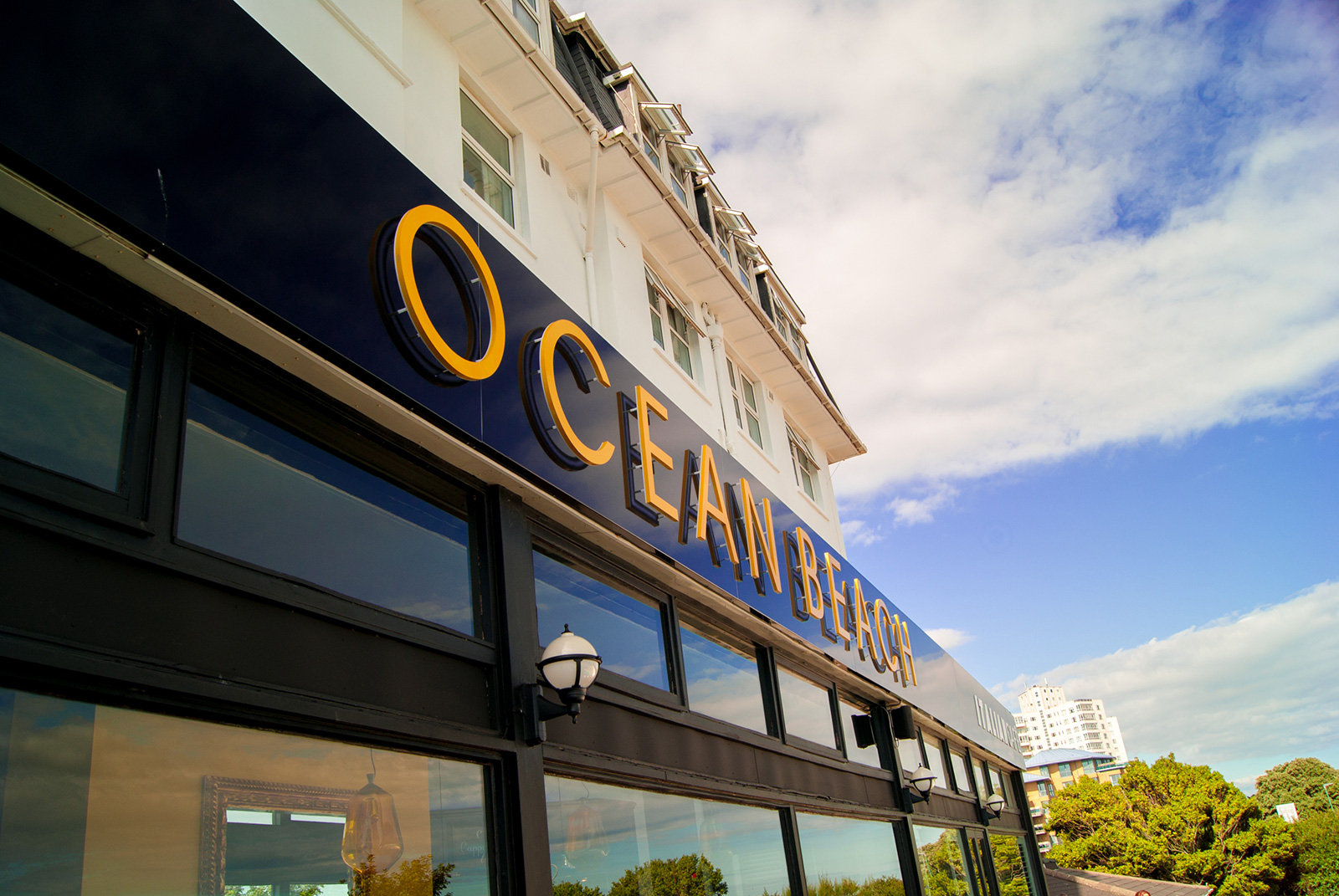 Beach themed weddings at the Ocean Beach Bournemouth